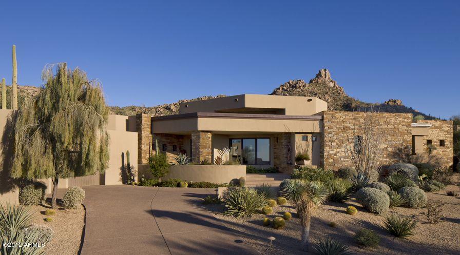 Desert Southwest Home Entrance Southwest House Architecture