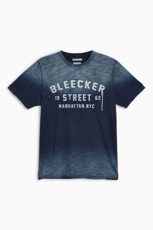 Buy Indigo Graphic T Shirt From The Next Uk Online Shop T Shirt Mens Tops Mens Shirts