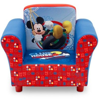 Disney Mickey Mouse Upholstered Chair Adult Unisex Kids