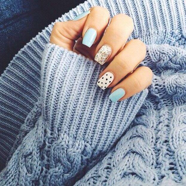Sencillas y bonitas | uñas tumblr | Pinterest | Sencillo, Bonitas y ...