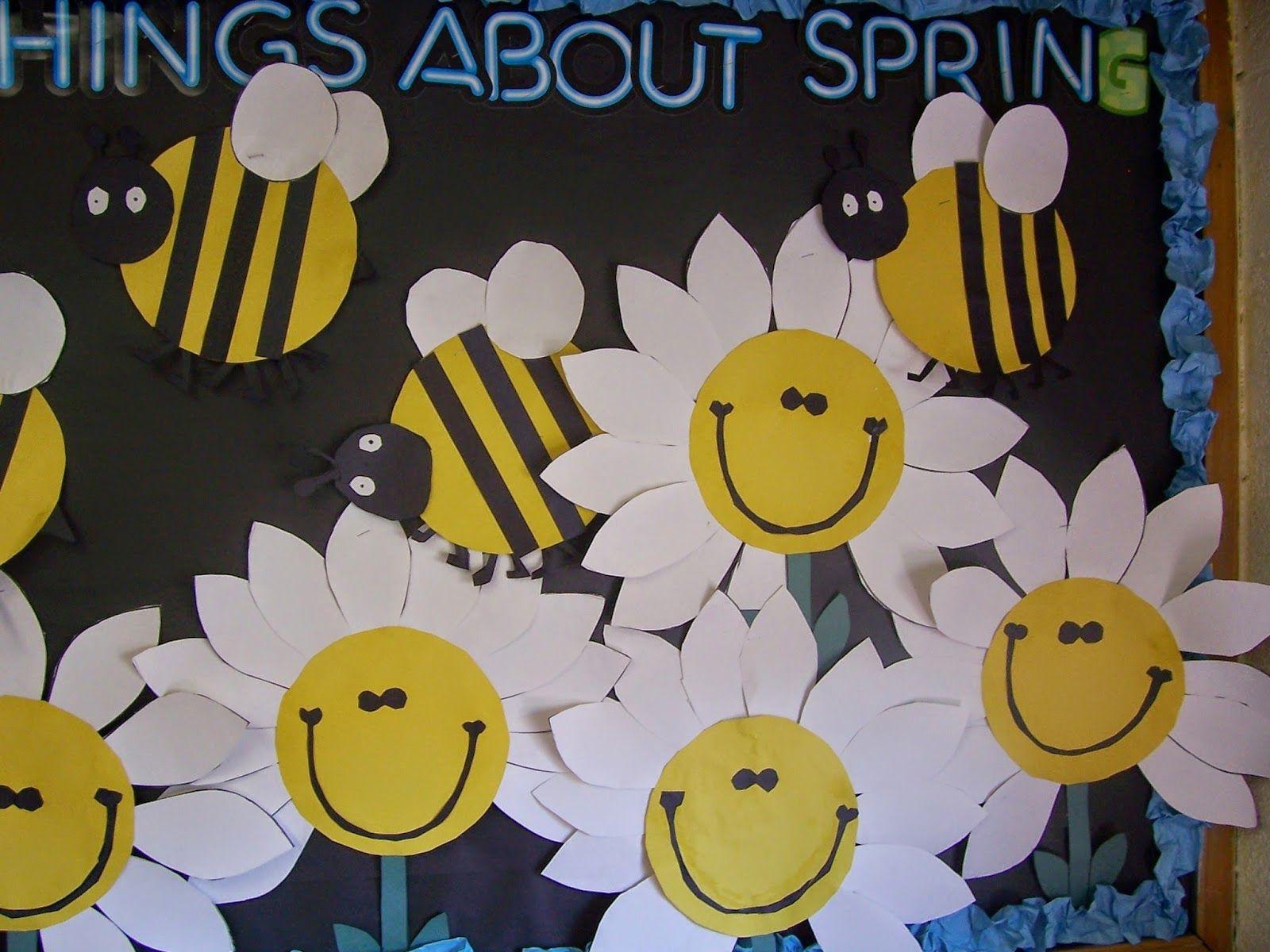 Spring Bulletin Board Templates