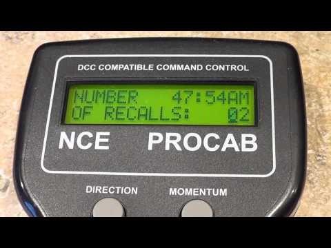NCE POWER CAB SET UP - YouTube