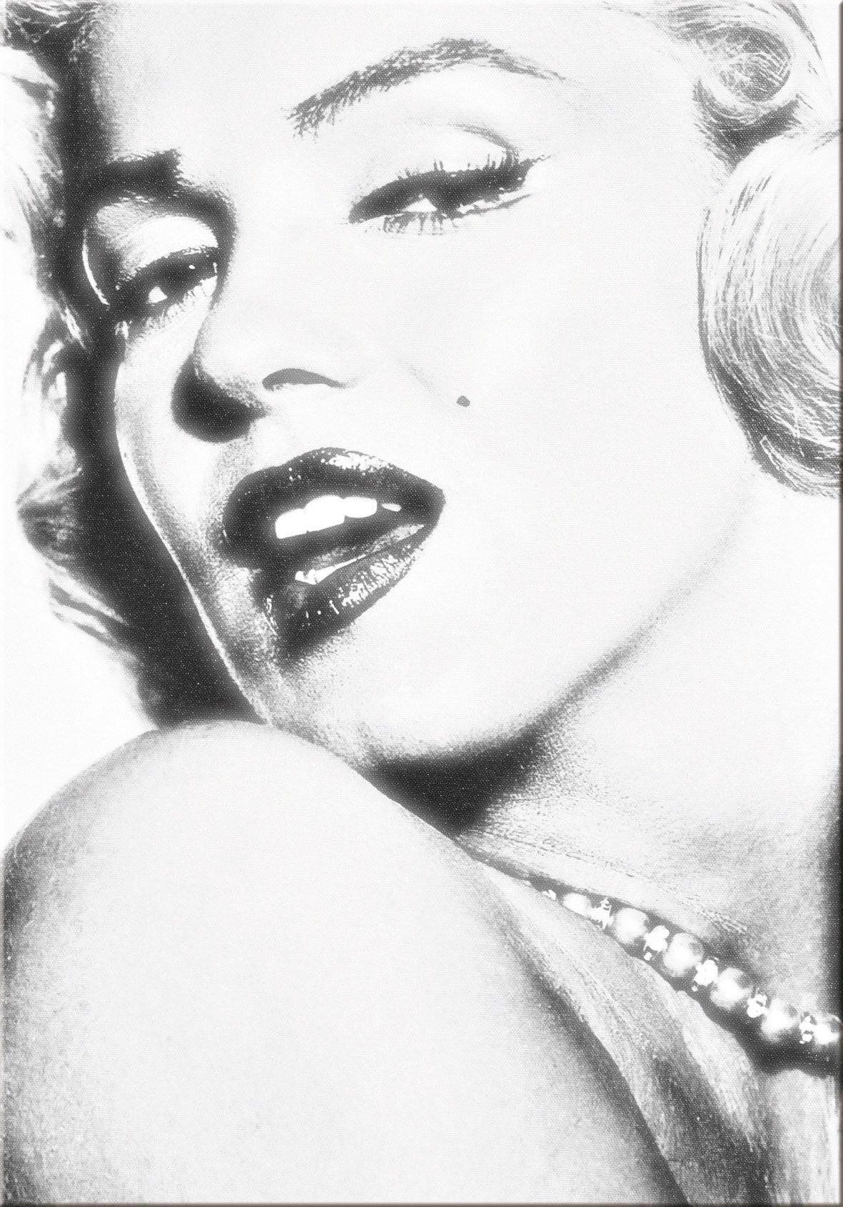 Quadri Donna Moderni Astratti Marylin Monroe Color Stampa su tela Arte Arredo...