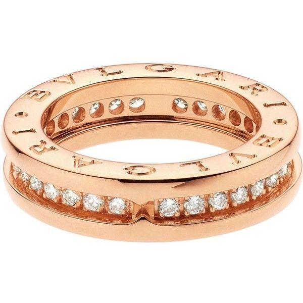 c2c14430e27c BVLGARI B.zero1 18kt pink-gold and diamond ring (6