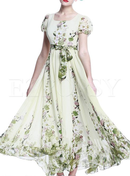 2a25cfbdfc99 Shop for high quality Summer Floral Print Long Maxi Dress online at cheap  prices and discover fashion at Ezpopsy.com