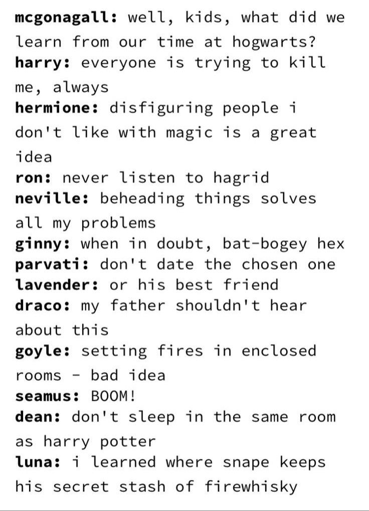 Photo of What Hogwarts Taught Us…
