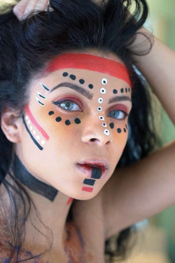 Top 20 Indian Halloween Makeup To Try This Year | Halloween makeup ...