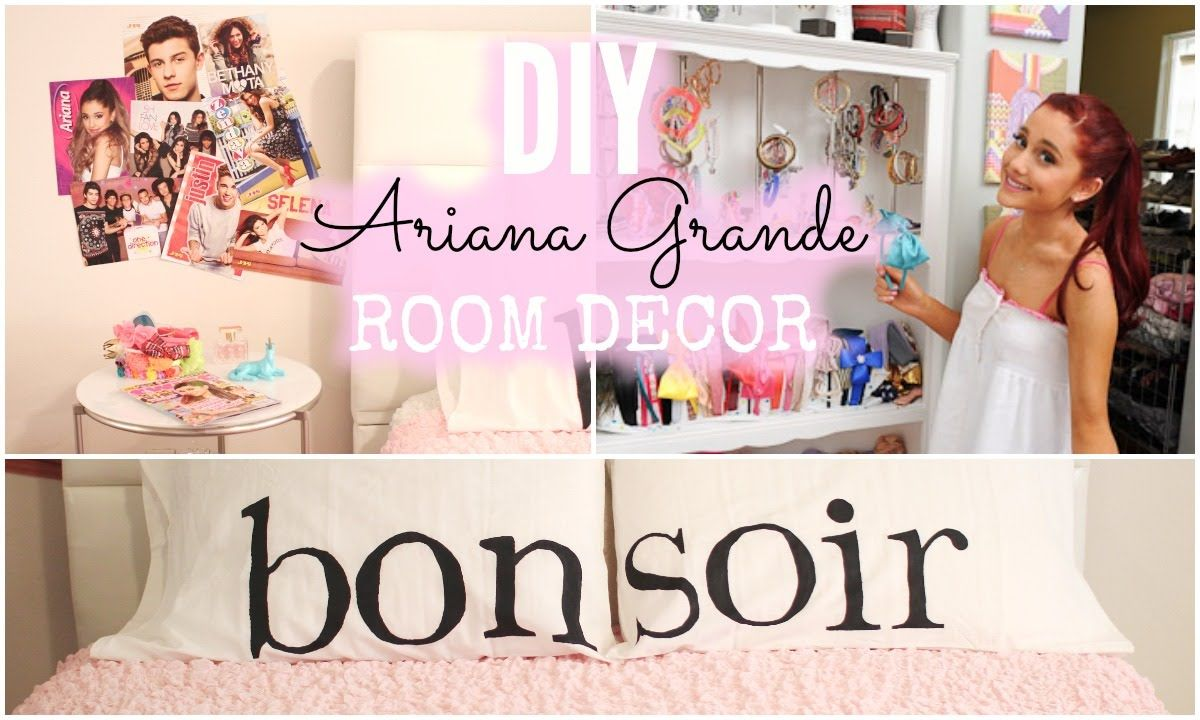 diy ariana grande room decor ♡ cheap + simple! | youtube