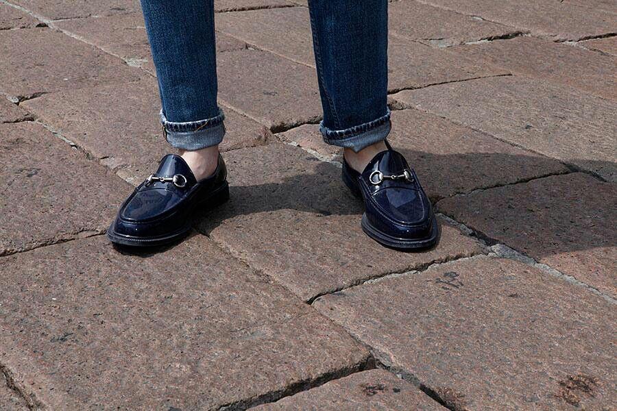 El nuevo largo de los pantalones.  Los zapatos están de morirse!!