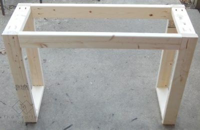 $25 Console Table with Free Plans! - The Crafted M