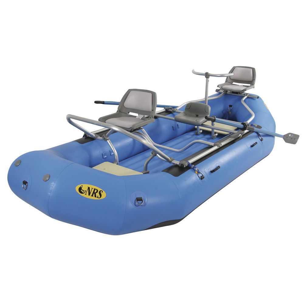 Nrs Otter 142 Fishing Package At Nrs Com Fly Fishing Boats Kayaking Gear River Fishing