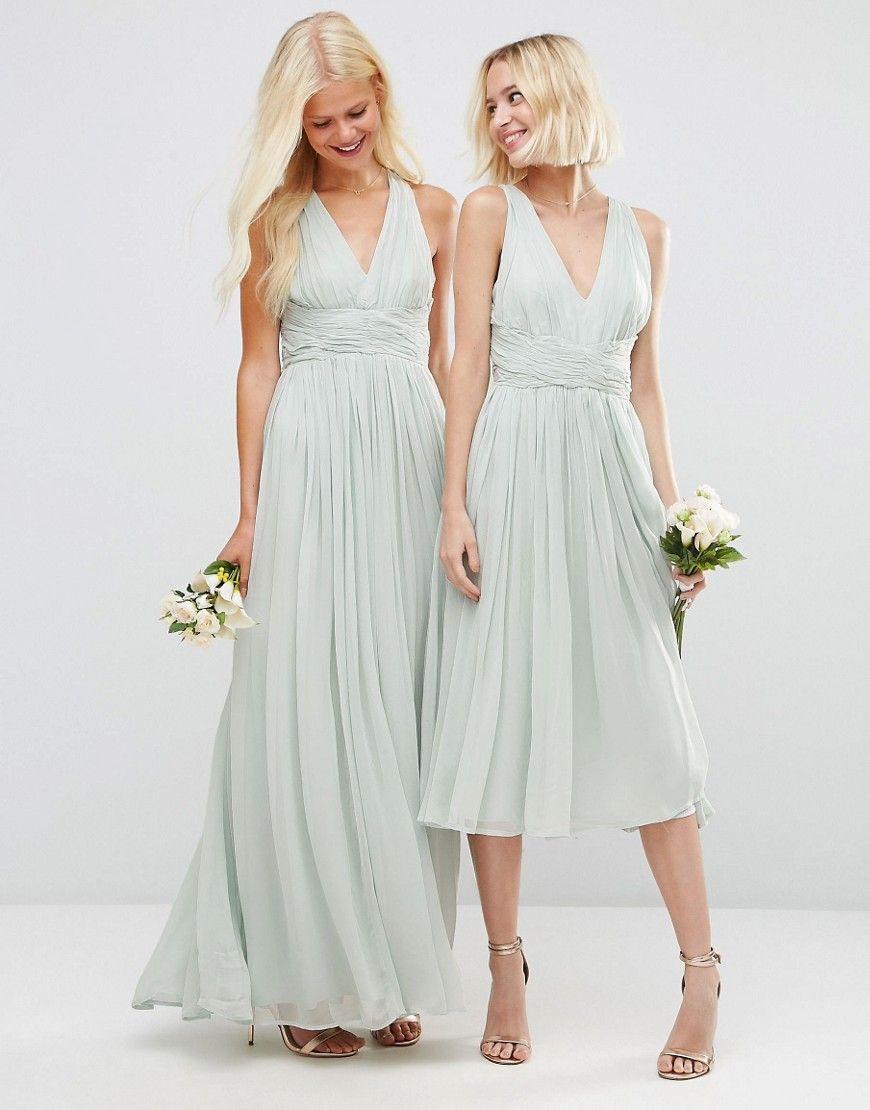 Image 3 of ASOS WEDDING Hollywood Midi dress | wedding ideas | Pinterest
