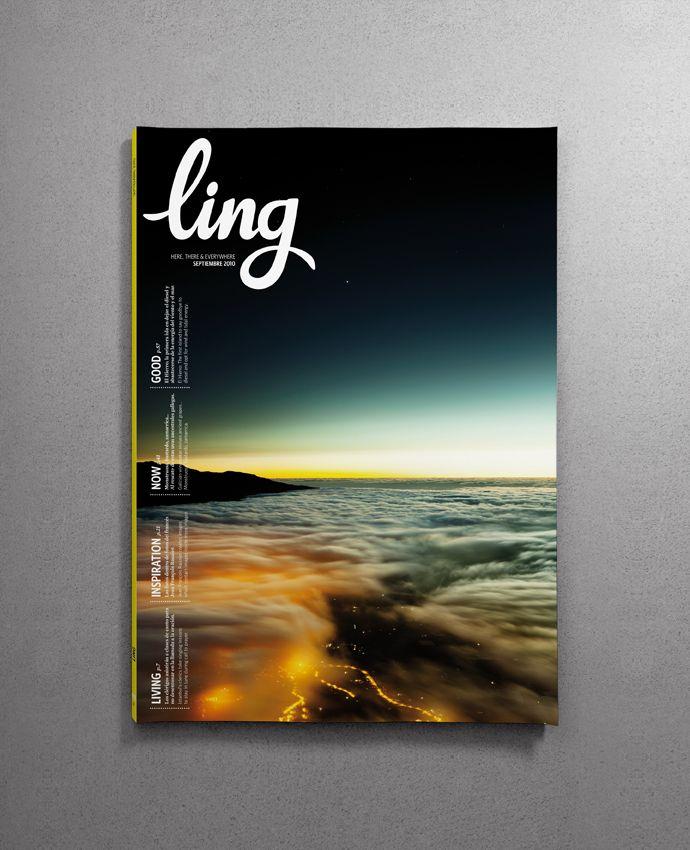 LING by Santos Henarejos, via Behance