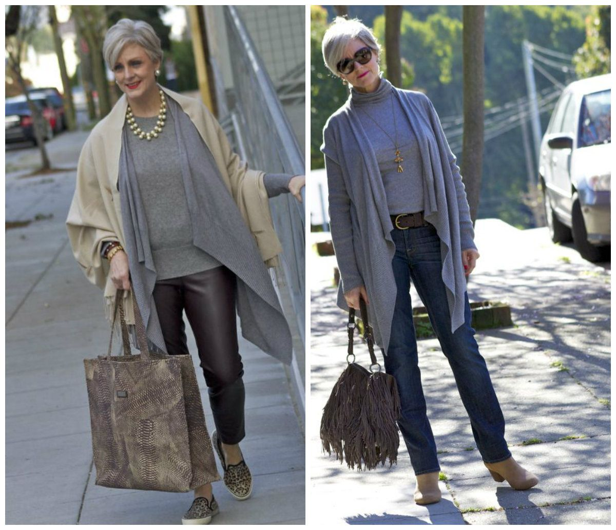 1 cute casual winter outfit ideas for older womens ...