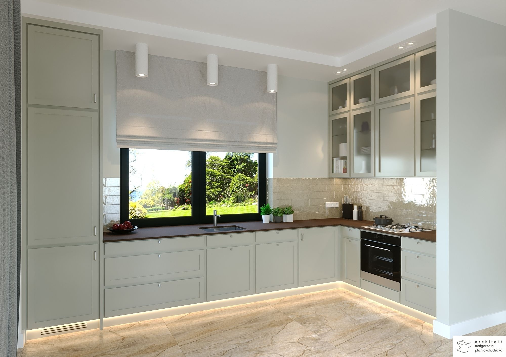 Kuchnia Z Widokiem Na Ogrod Home Home Decor Kitchen