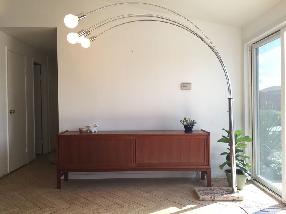 Vintage Mid Century ARC Floor Lamp Standing Light (Local