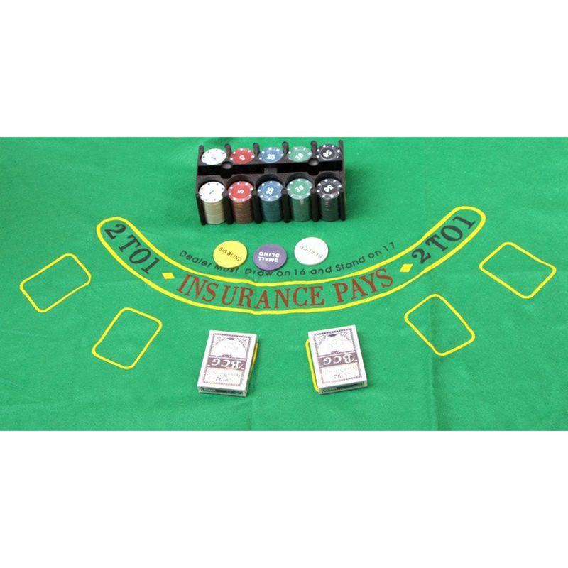 Super Deal 200 Texas Holdem Poker Set Bargaining Poker Chips Set Blackjack Table Cloth Blinds Dealer Poker Cards K8356 Poker Chips Poker Chips Set Blackjack