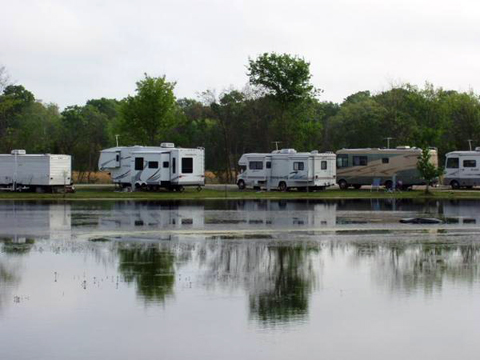 Poches Fish N Camp RV Park At Breaux Bridge Louisiana