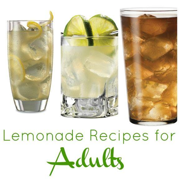 Lemonade Non Alcoholic Drinks: Lemonade Cocktail Recipes. Can Easily Be Made Non