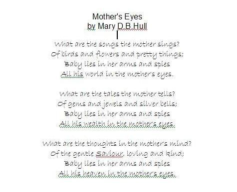 mothers day poems | Mothers Day Poems | poems | Pinterest | Mother ...