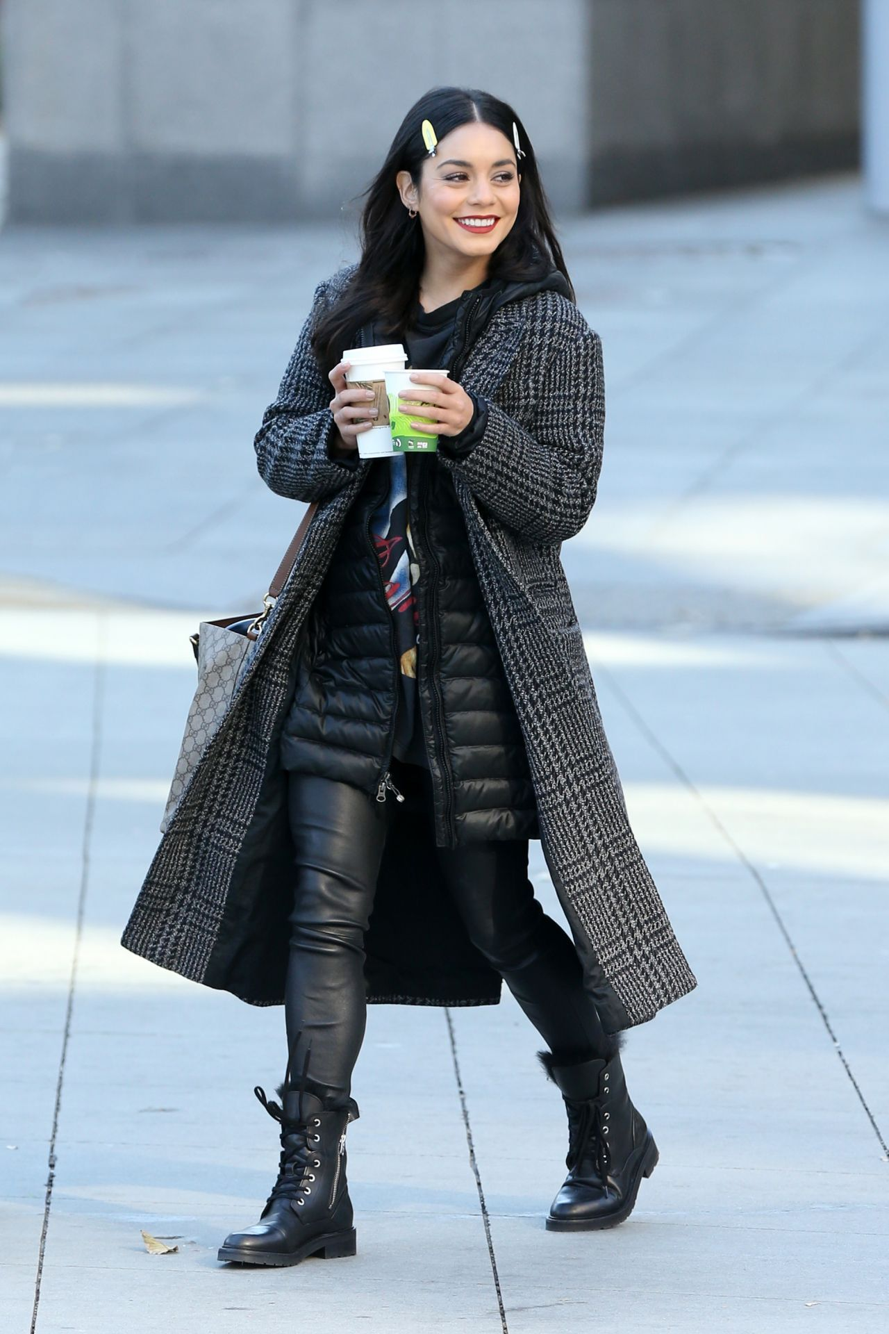 524b934a40b Vanessa Hudgens  VanessaHudgens on the Set of Second Act in NYC http ...
