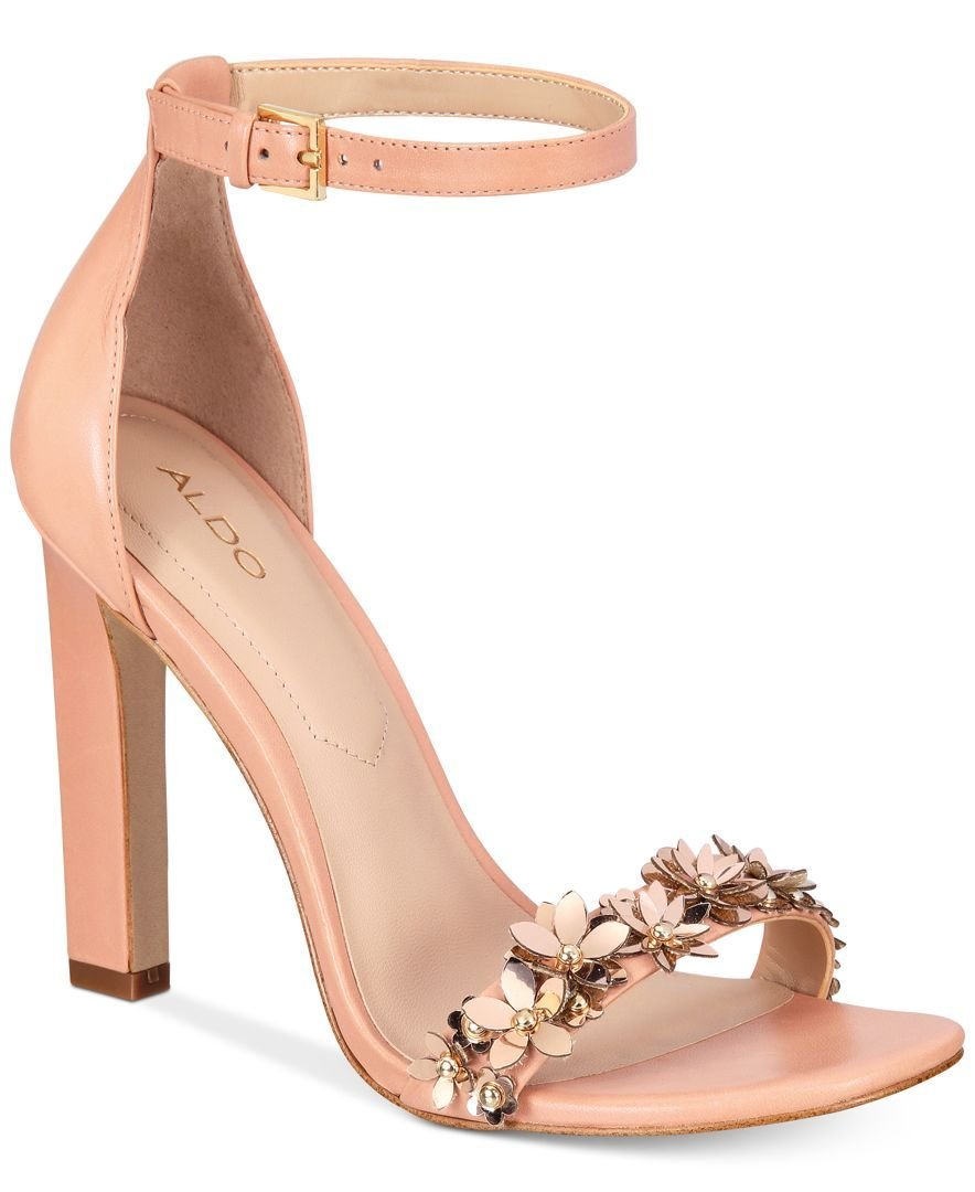 ff9e536a9a40 Aldo Mila Two-Piece Block-Heel Sandals
