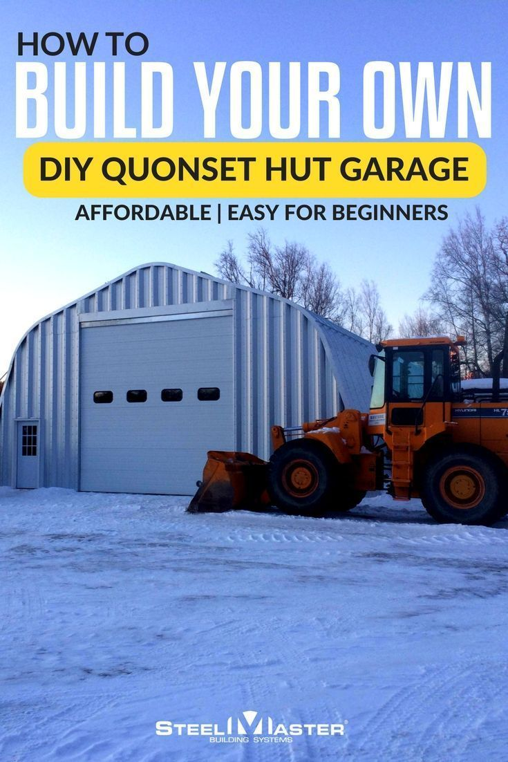 Our steel garage plans were made with the ultimate doityourself – Do It Yourself Garage Plans