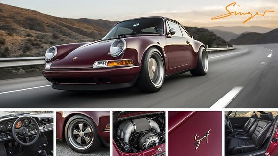 Singer Vehicle Design Restored Reimagined Reborn Singer Vehicle Design Singer Porsche Dream Cars