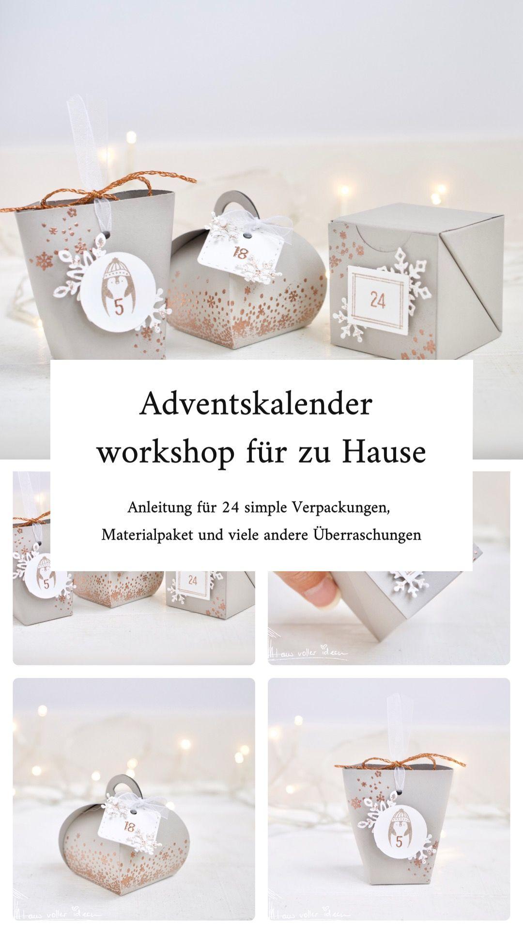 Adventskalender – neuer Workshop to go