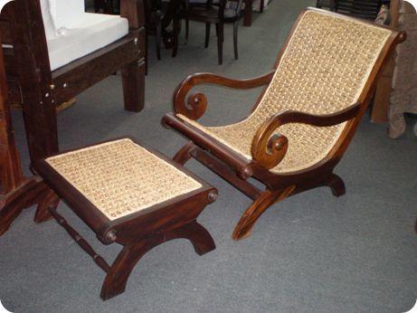 Tremendous Southseas Trading Company Teak Rattan Plantation Chair Dailytribune Chair Design For Home Dailytribuneorg