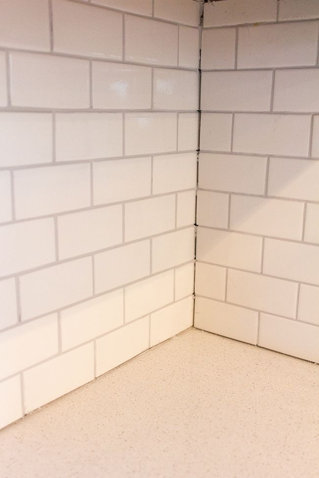 caulking kitchen backsplash. On Monday I Left Off With A Recap Of How We Installed Our Subway Tile\u2026 Few Hours After That Post, Started The Grout. Here\u0027s What Used: Went Caulking Kitchen Backsplash