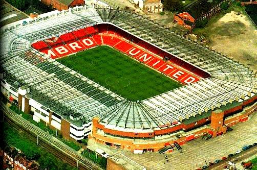 Old Trafford 1994 Manchester United Stadium Manchester United Manchester United Football