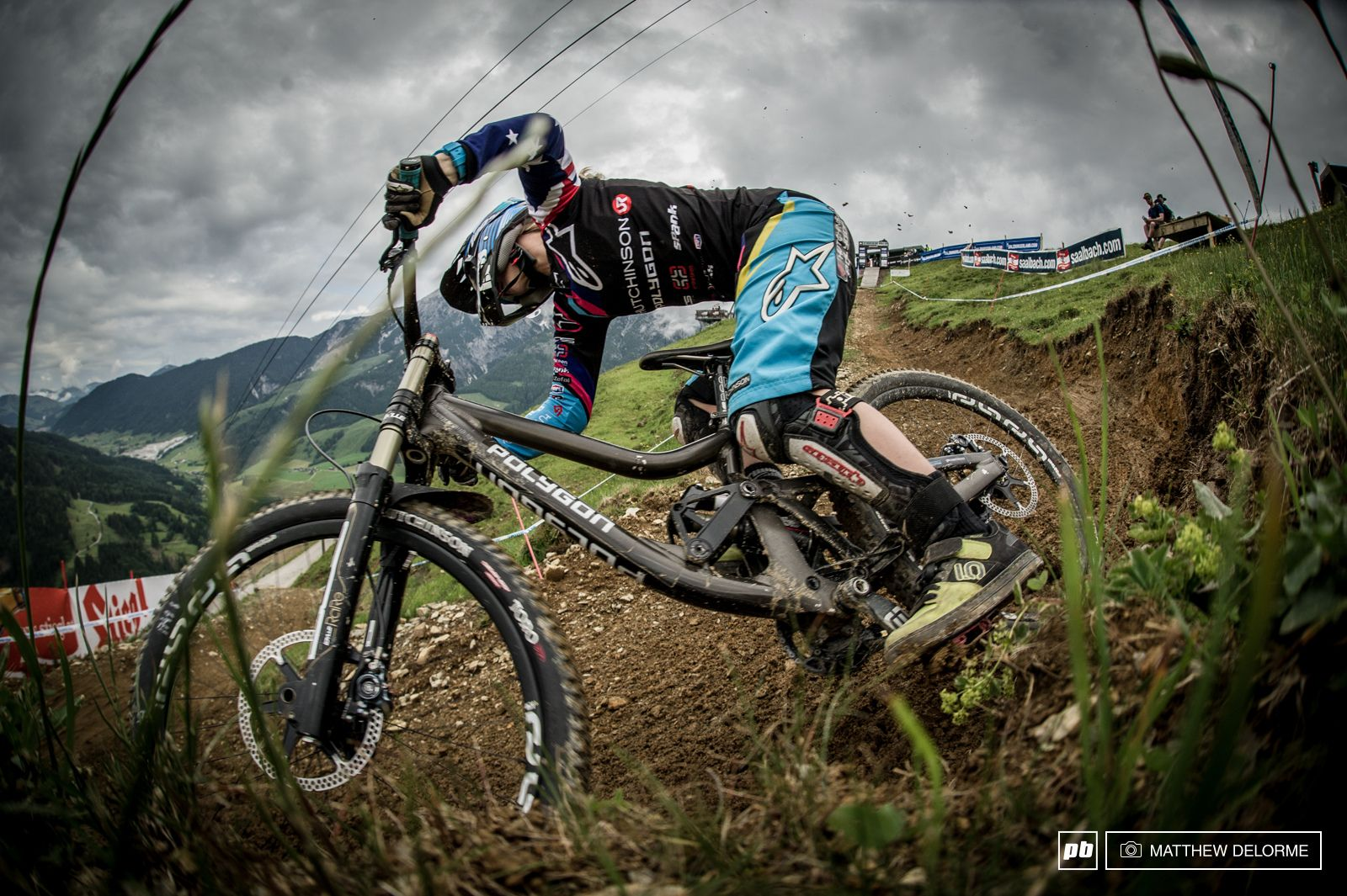 Spank Bikes and iXS supported, Tracey Hannah.
