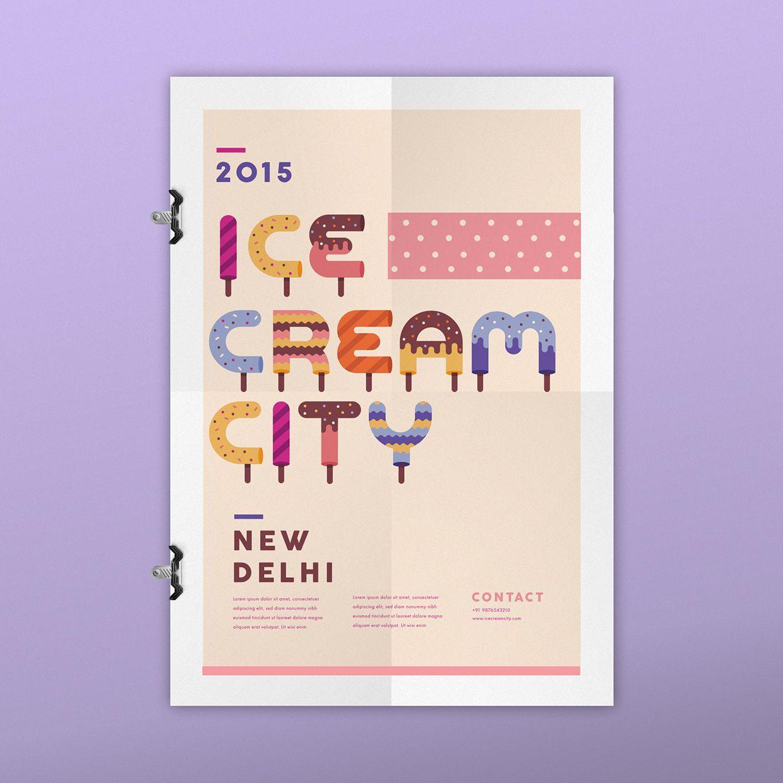 Ice Cream City on Behance
