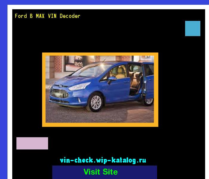 car max check vin number