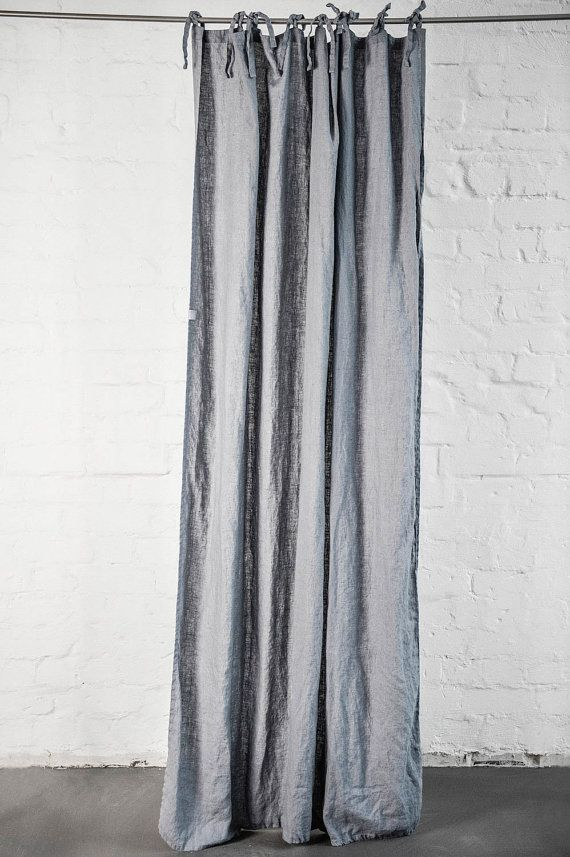 vorhang leinen grau gardinen with vorhang leinen grau. Black Bedroom Furniture Sets. Home Design Ideas