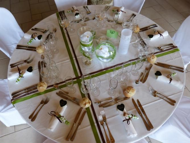 D coration de mariage th me nature centre de table pinterest theme natu - Decoration table mariage nature ...