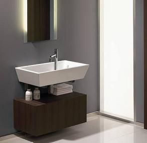 Lavabo remodeling the bathroom pinterest ba o for Lavabo minimalista