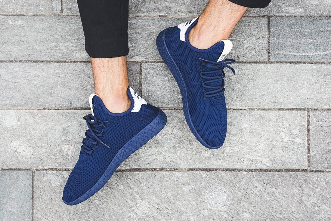 On Foot Pharrell S New Adidas Tennis Hu Collection Sneaker Freaker Sneakers Sneakers Fashion Adidas Tennis