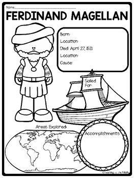 Explorer Ferdinand Magellan Biography Reading... by