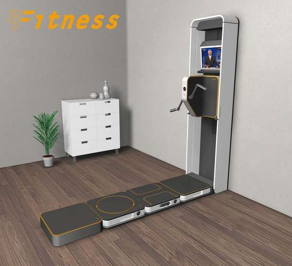 Space Saving Home Gym - Google Search