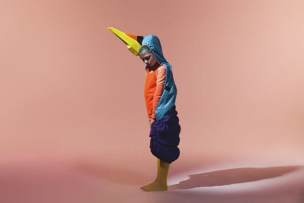 Accesories for Nick & Chloé Birds fashion shoot by Le Creative Sweatshop , via Behance