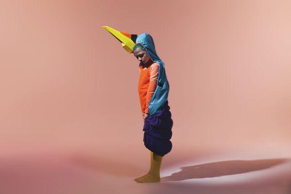 Accesories for Nick & Chloé Birds fashion shoot by Le Creative Sweatshop , via Behance