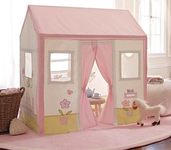 Pottery Barn Playhouse: Pottery Barn Kids Cottage Playhouse Replacement Cover