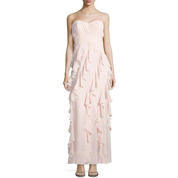Belle Badgley Mischka Women\'s Sweetheart Neckline Ruffled Gown ($136 ...