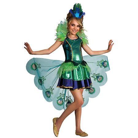Halloween Costumes For Kidsgirl Walmart.Peacock Child Halloween Costume Walmart Com All Things