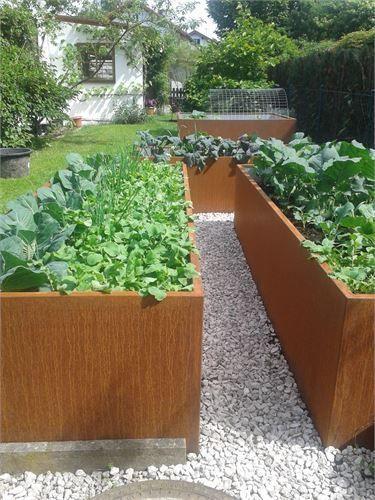 Hochbeet Hochbeet Baustze Metall Und Aushochbeet Und Hochbeet Bausatze Aus Metall Garden Beds Raised Garden Raised Garden Beds