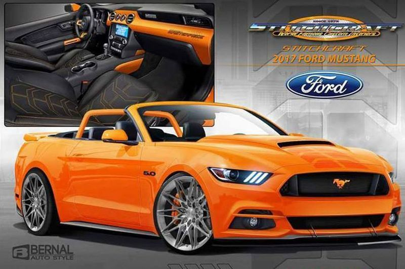Zes Fords Mustang Verbouwd Voor Sema Ford Mustang Mustang And Ford