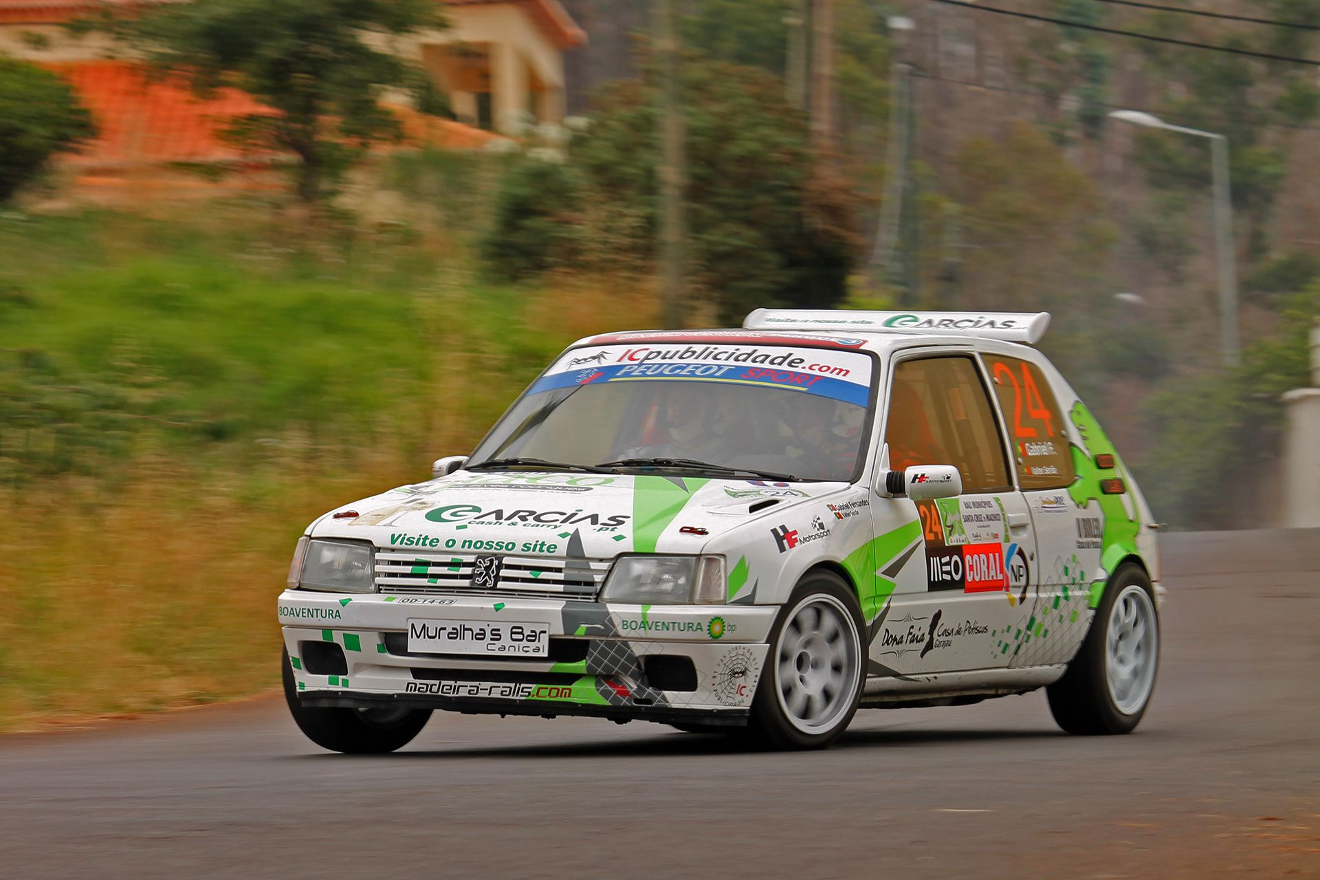 peugeot 205 1 9 gti rally car classic cars cars rally car ja rally. Black Bedroom Furniture Sets. Home Design Ideas