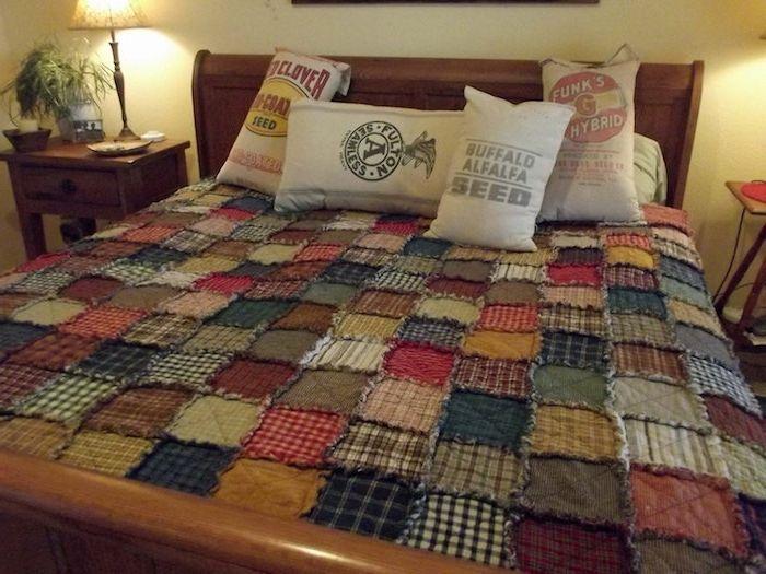 Vintage schlafzimmermöbel ~ Einfache nähideen ein vintage schlafzimmer viele stoffe mit